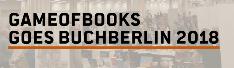 GameOfBooks goes BuchBerlin 2018