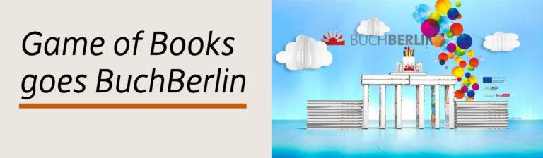 Game of Books auf der Buchberlin 2019